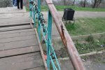 Почему молодежный парк в Керчи бросили на пол дороги ?