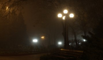 Прогулка по ночной Керчи