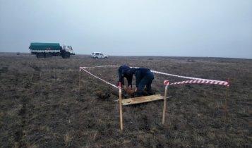 Рядом с озером Чокрак обнаружено 5 бомб времен войны