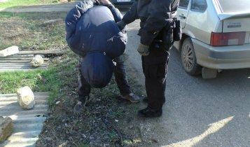 В Ленинском районе задержали наркоторговца (фото)