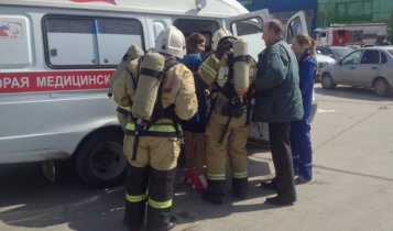 В Керчи проведены пожарно-тактические учения