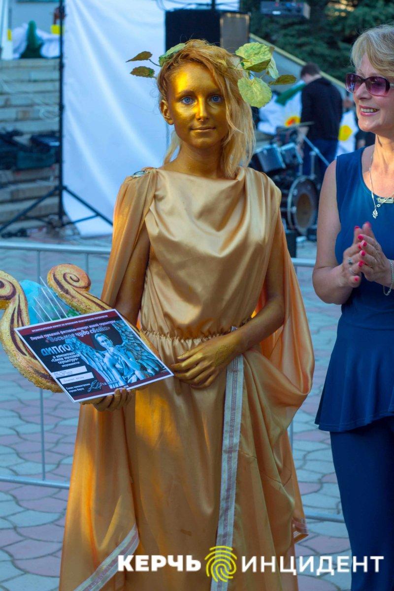 В Керчи прошел фестиваль живых скульптур