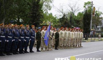 Генеральная репетиция Парада Победы в Керчи