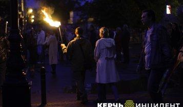 Факельное шествие в Керчи 2018 (фото)
