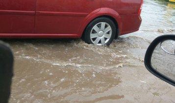 Крым заливает дождями (видео)